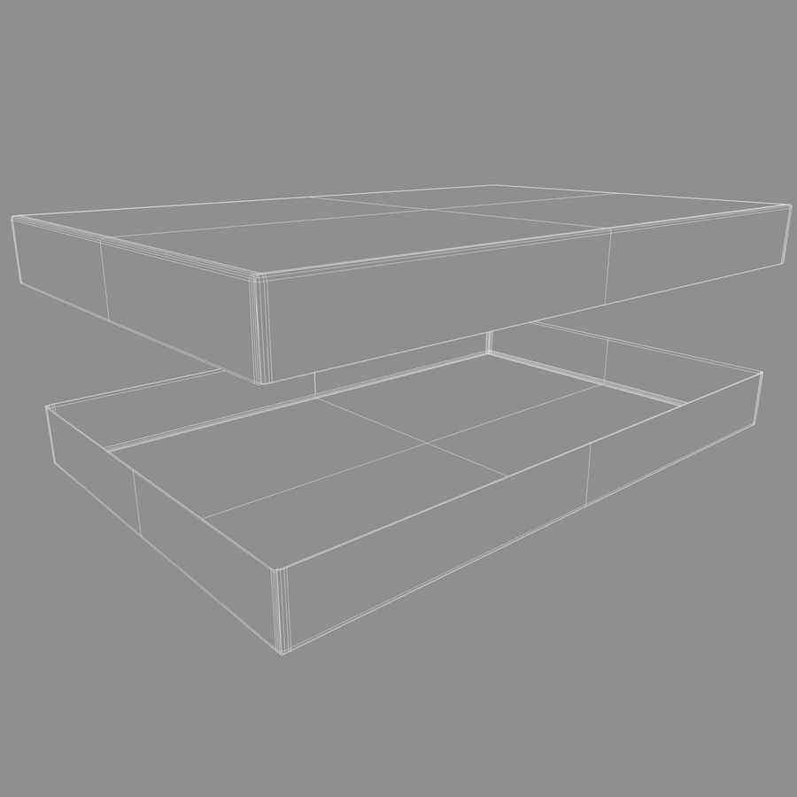 Box Cardboard royalty-free 3d model - Preview no. 10