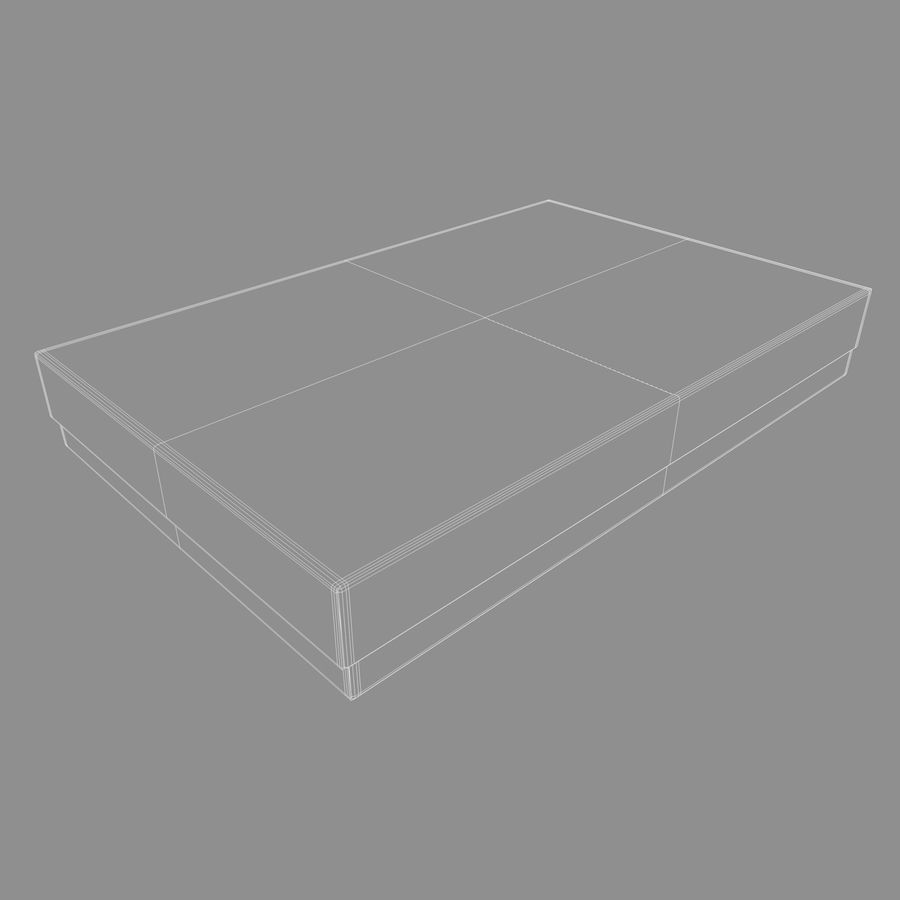 Box Cardboard royalty-free 3d model - Preview no. 9