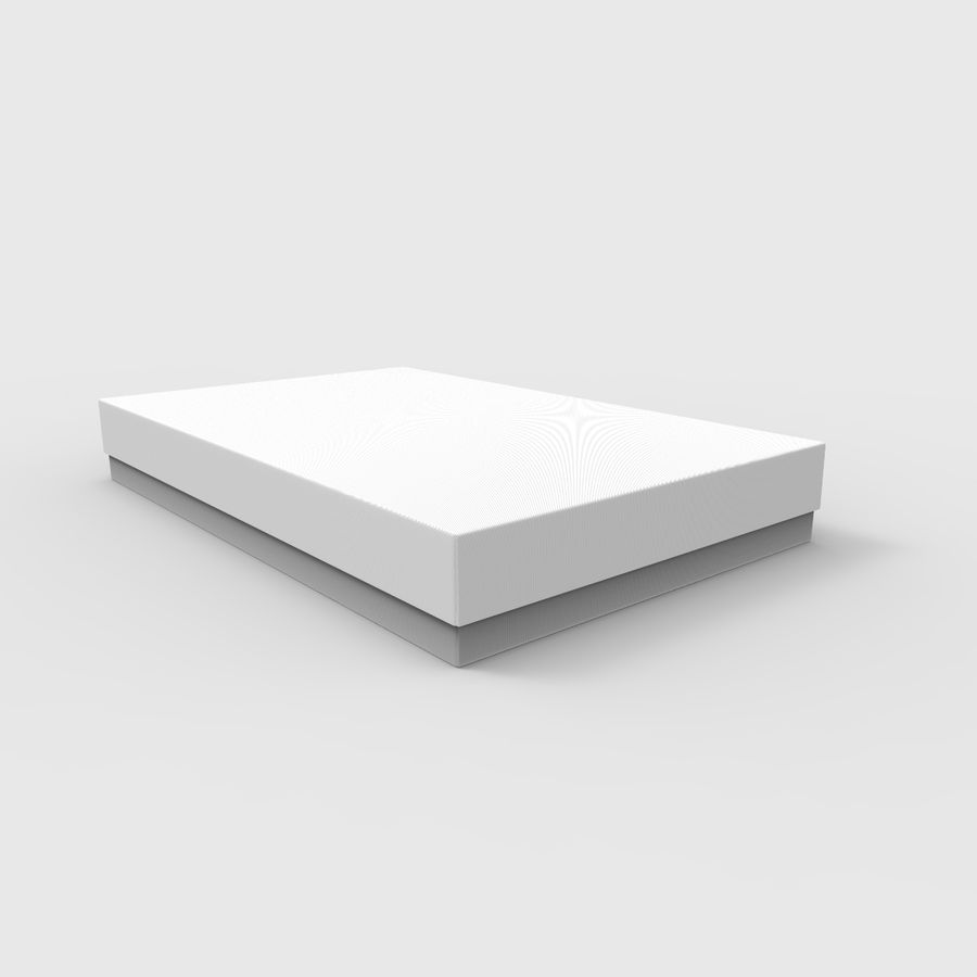 Box Cardboard royalty-free 3d model - Preview no. 2