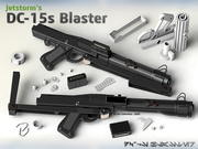 Star WARS DC-15s Blaster (3D Printable) 3d model