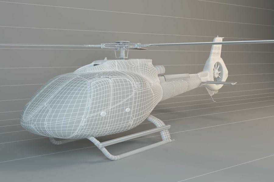 ヘリコプター royalty-free 3d model - Preview no. 4