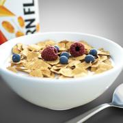 Cereal de cereales modelo 3d