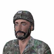 Syrische soldaat 3d model