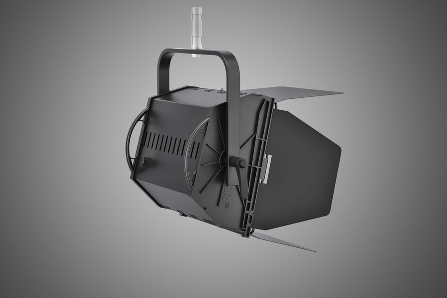 ARRI Flood 1250 royalty-free 3d model - Preview no. 3
