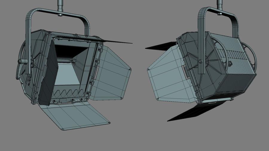 ARRI Flood 1250 royalty-free 3d model - Preview no. 8