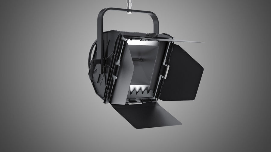 ARRI Flood 1250 royalty-free 3d model - Preview no. 2