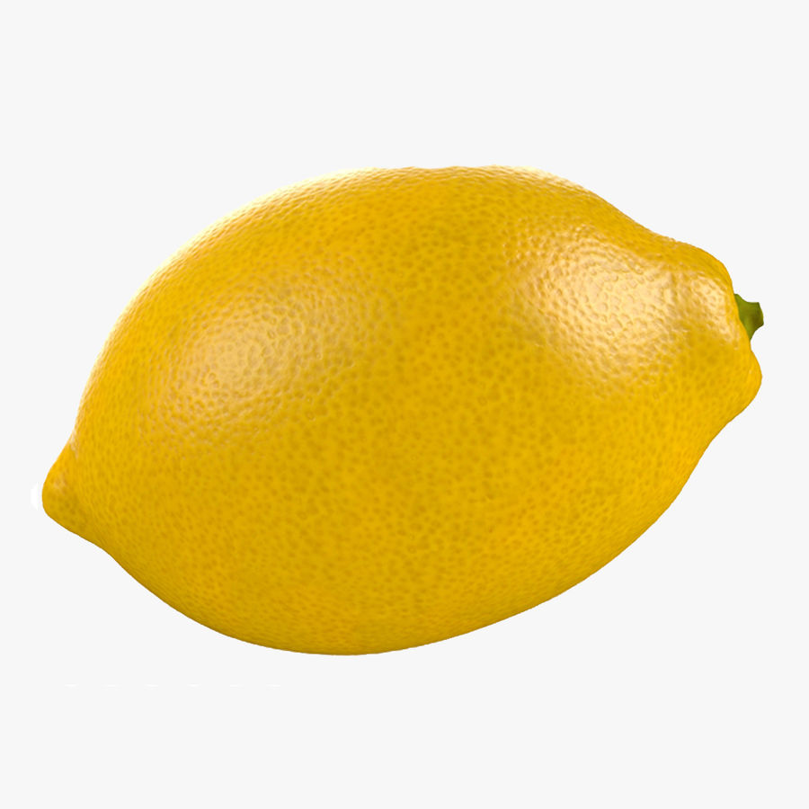 Tipo di frutta al limone 1 royalty-free 3d model - Preview no. 2