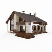 Alpine House 3d model