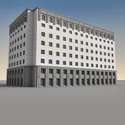 Edificio moderno 091 modelo 3d