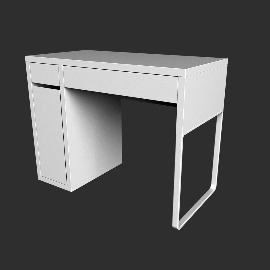 IKEA Micke royalty-free 3d model - Preview no. 6