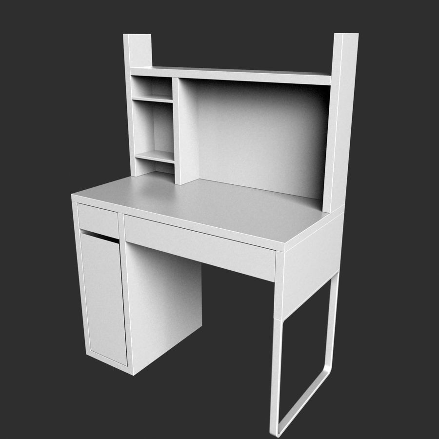 IKEA Micke royalty-free 3d model - Preview no. 2