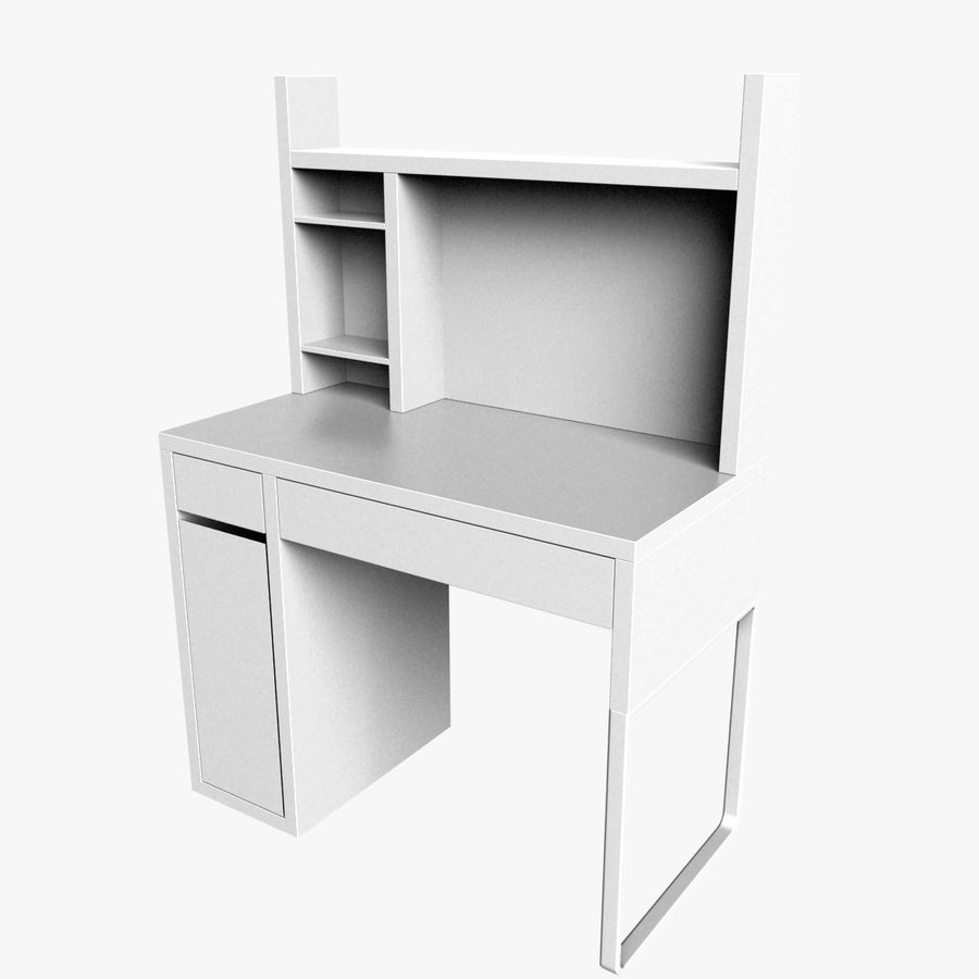 IKEA Micke royalty-free 3d model - Preview no. 1