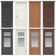 Klasyczne drzwi wewnętrzne 01 3d model