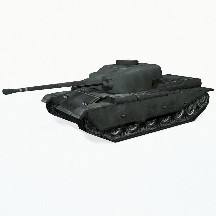 Centurion tank royalty-free 3d model - Preview no. 2