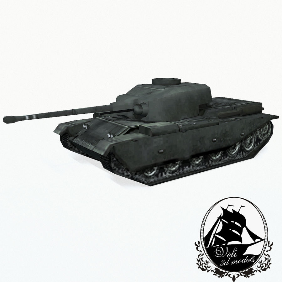 Centurion tank royalty-free 3d model - Preview no. 1