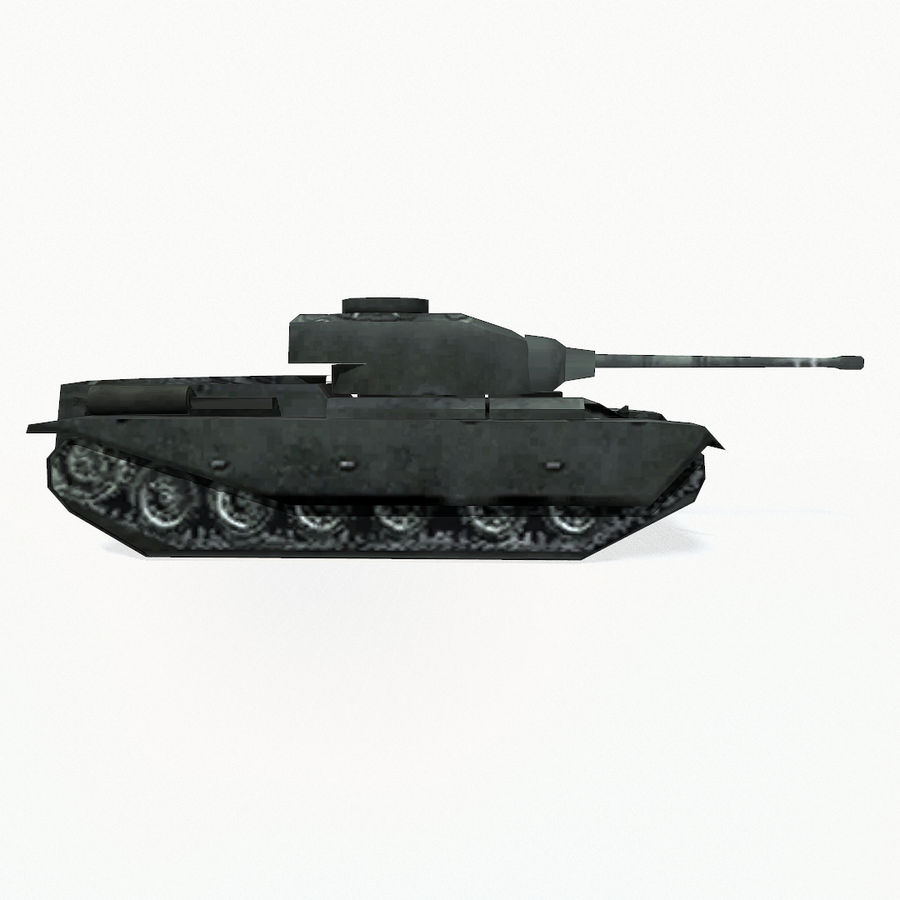 Centurion tank royalty-free 3d model - Preview no. 7