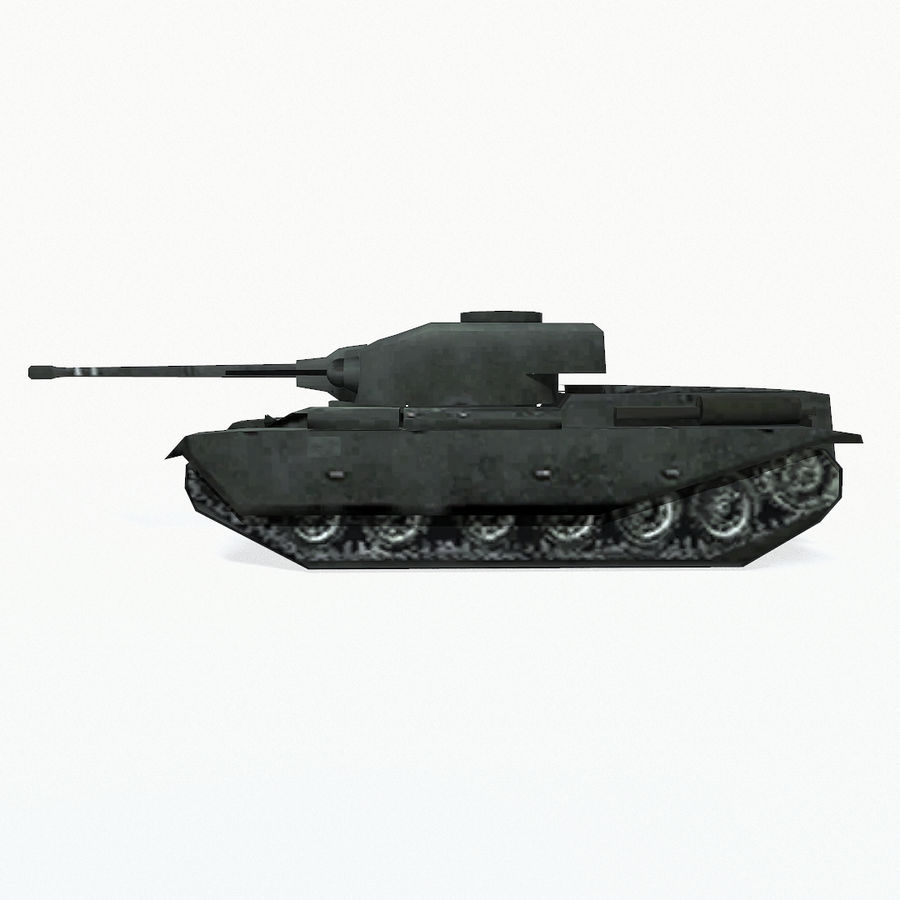 Centurion tank royalty-free 3d model - Preview no. 4
