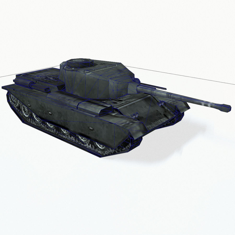 Centurion tank royalty-free 3d model - Preview no. 13