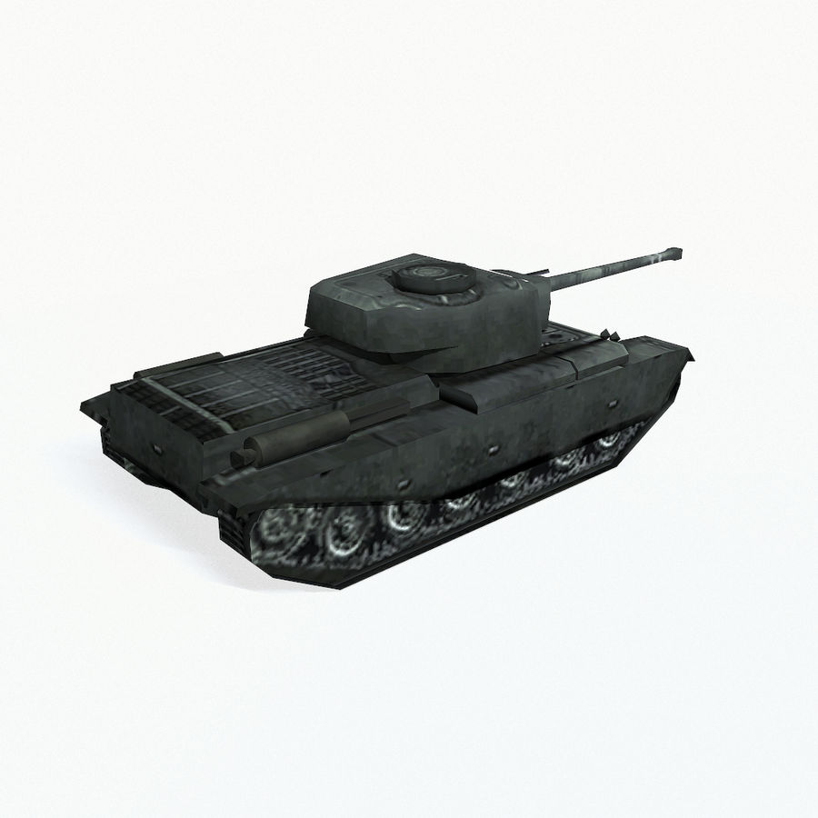 Centurion tank royalty-free 3d model - Preview no. 6