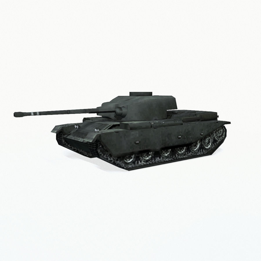 Centurion tank royalty-free 3d model - Preview no. 3