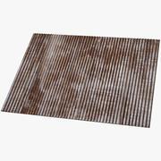 Corrugated Sheet Metal 3d model