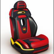 Автомобильное сиденье 3d model