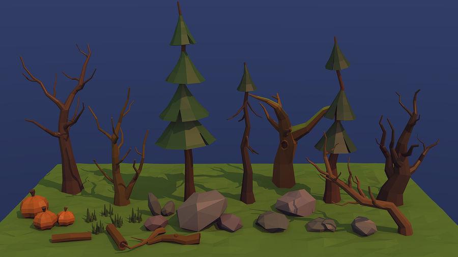 Orman varlığı royalty-free 3d model - Preview no. 1