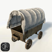 Wagenspiel fertig 3d model