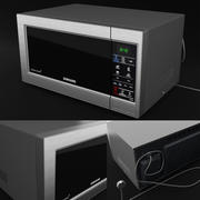 Microwave Samsung ME73MR 3d model