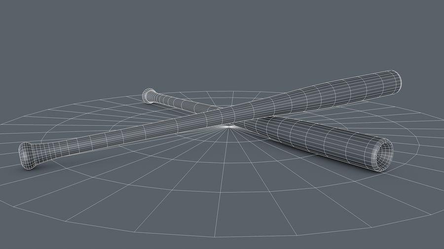 Baseball Bat royalty-free 3d model - Preview no. 9