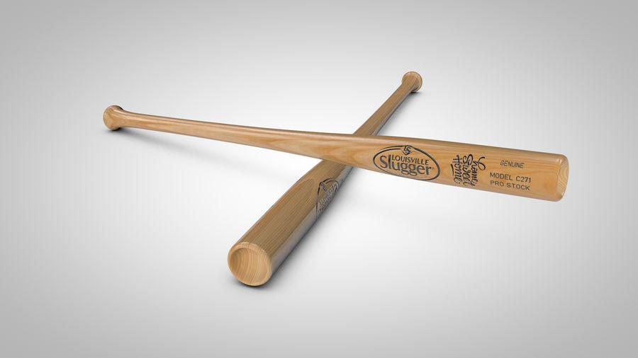 Baseball Bat royalty-free 3d model - Preview no. 2