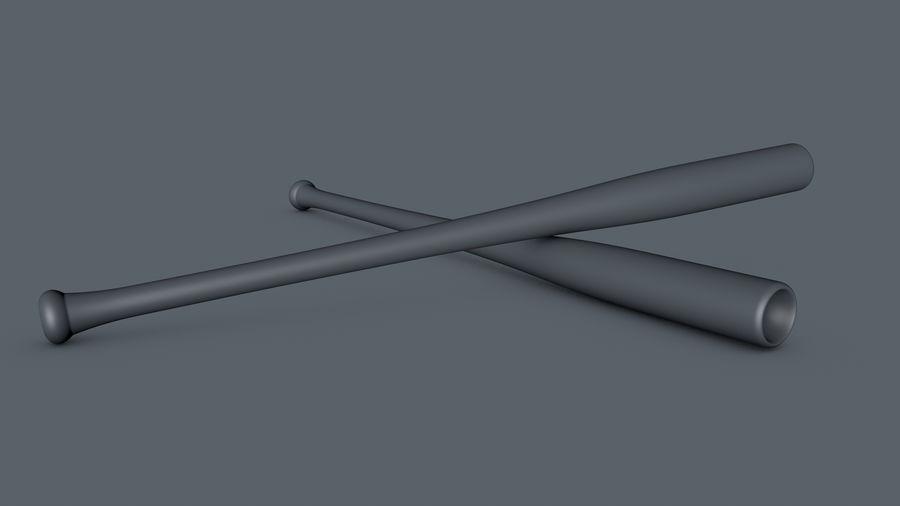 Baseball Bat royalty-free 3d model - Preview no. 8