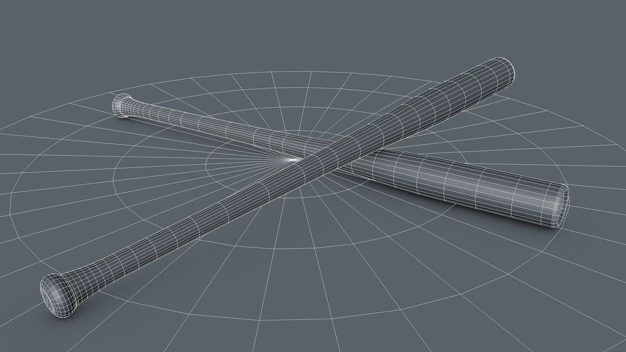 Baseball Bat royalty-free 3d model - Preview no. 11