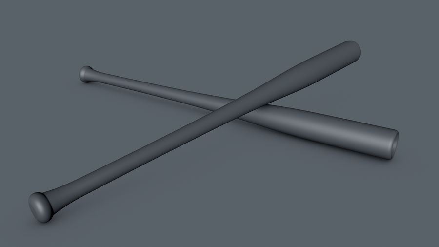 Baseball Bat royalty-free 3d model - Preview no. 10