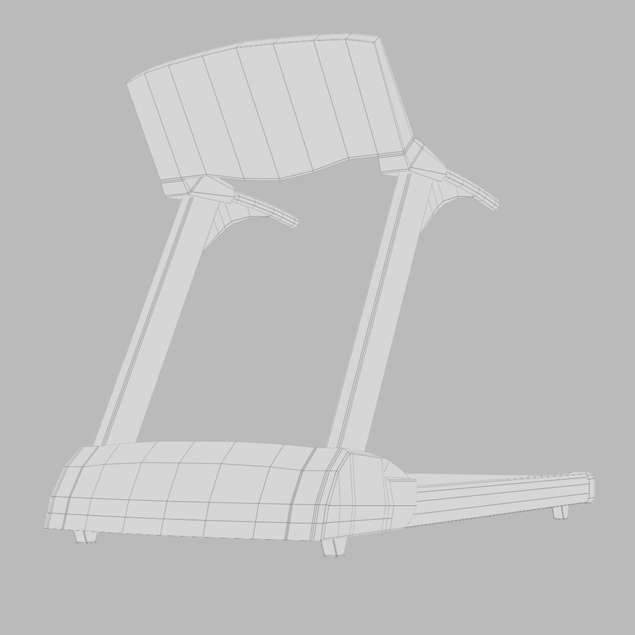 Treadmill royalty-free 3d model - Preview no. 7