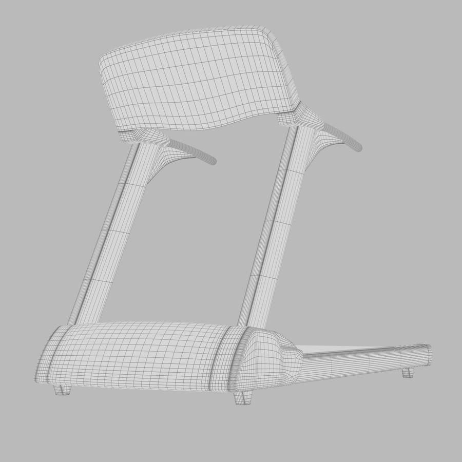 Treadmill royalty-free 3d model - Preview no. 8