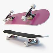 滑板 3d model