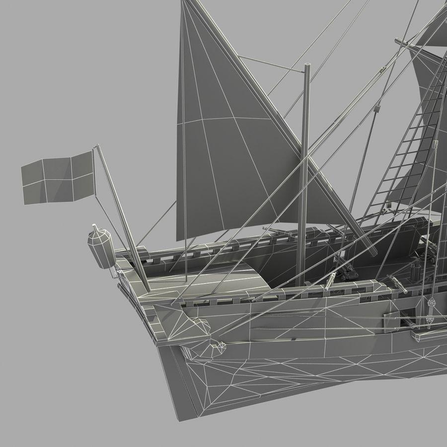 Sailing Ship royalty-free 3d model - Preview no. 19