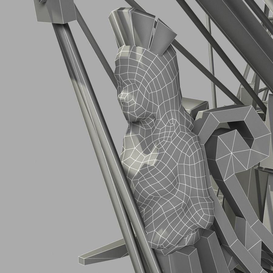 Парусное судно royalty-free 3d model - Preview no. 22