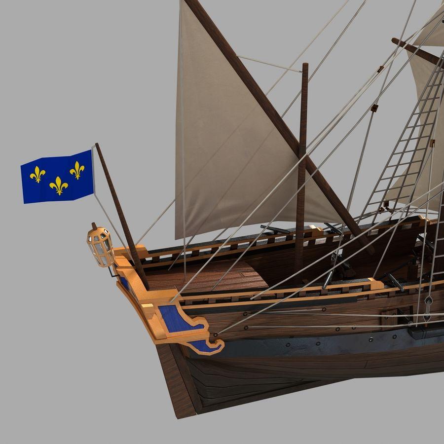 Sailing Ship royalty-free 3d model - Preview no. 4