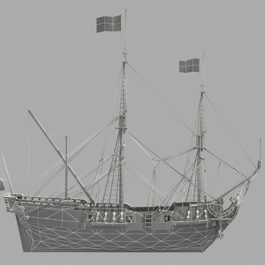 Sailing Ship royalty-free 3d model - Preview no. 27