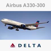 Airbus A330 Delta 3d model