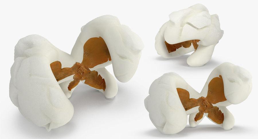 Popcorn Evolution Set royalty-free 3d model - Preview no. 9