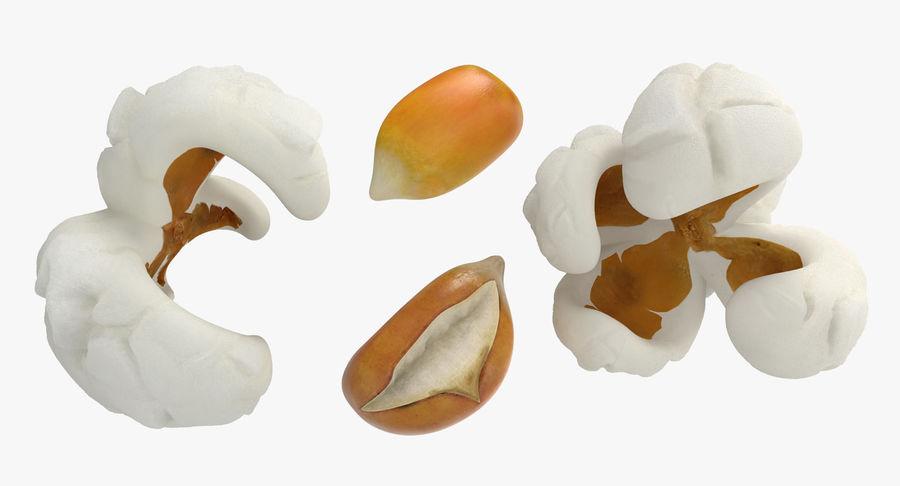 Popcorn Evolution Set royalty-free 3d model - Preview no. 4