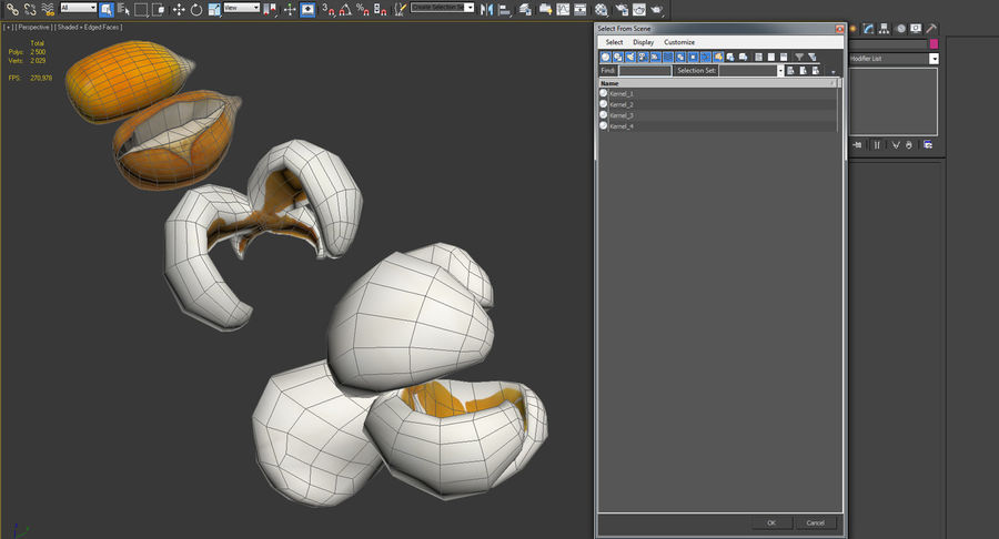 Popcorn Evolution Set royalty-free 3d model - Preview no. 14
