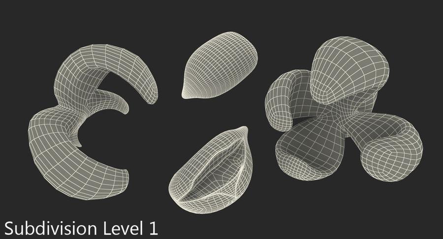 Popcorn Evolution Set royalty-free 3d model - Preview no. 11