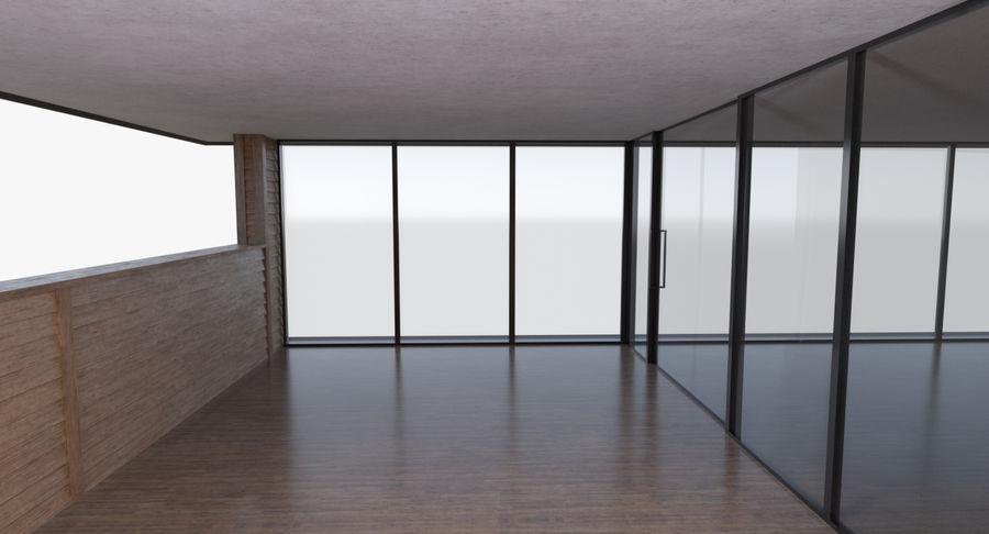 Maison moderne trois avec intérieur complet modèle 3D $49 ...