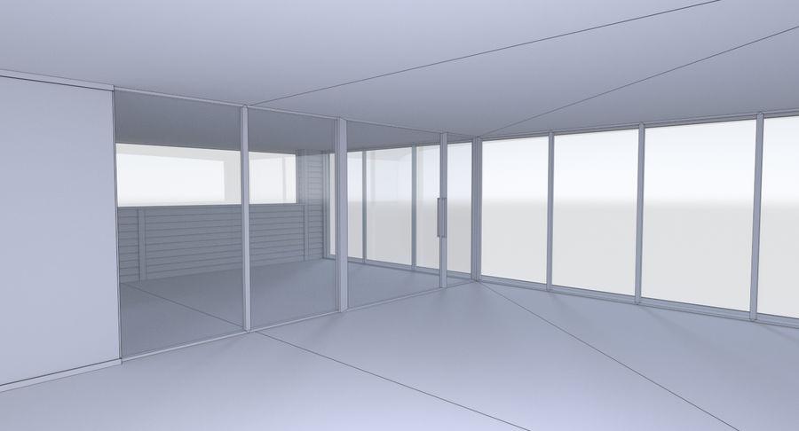 Maison moderne trois avec intérieur complet modèle 3D $49 - .obj ...
