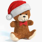 Christmas Bear 2 3d model