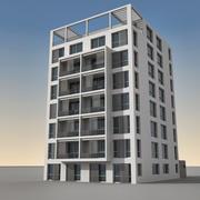 Modern Building 096 3d model